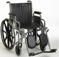 Wheelchair with elevating Leg Rests