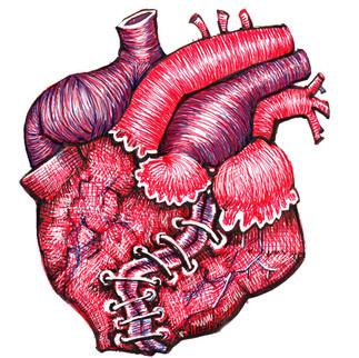 The heart of La Llorona