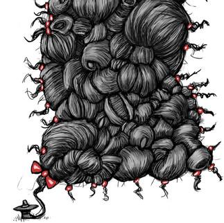 El Sombreron Brading Hair
