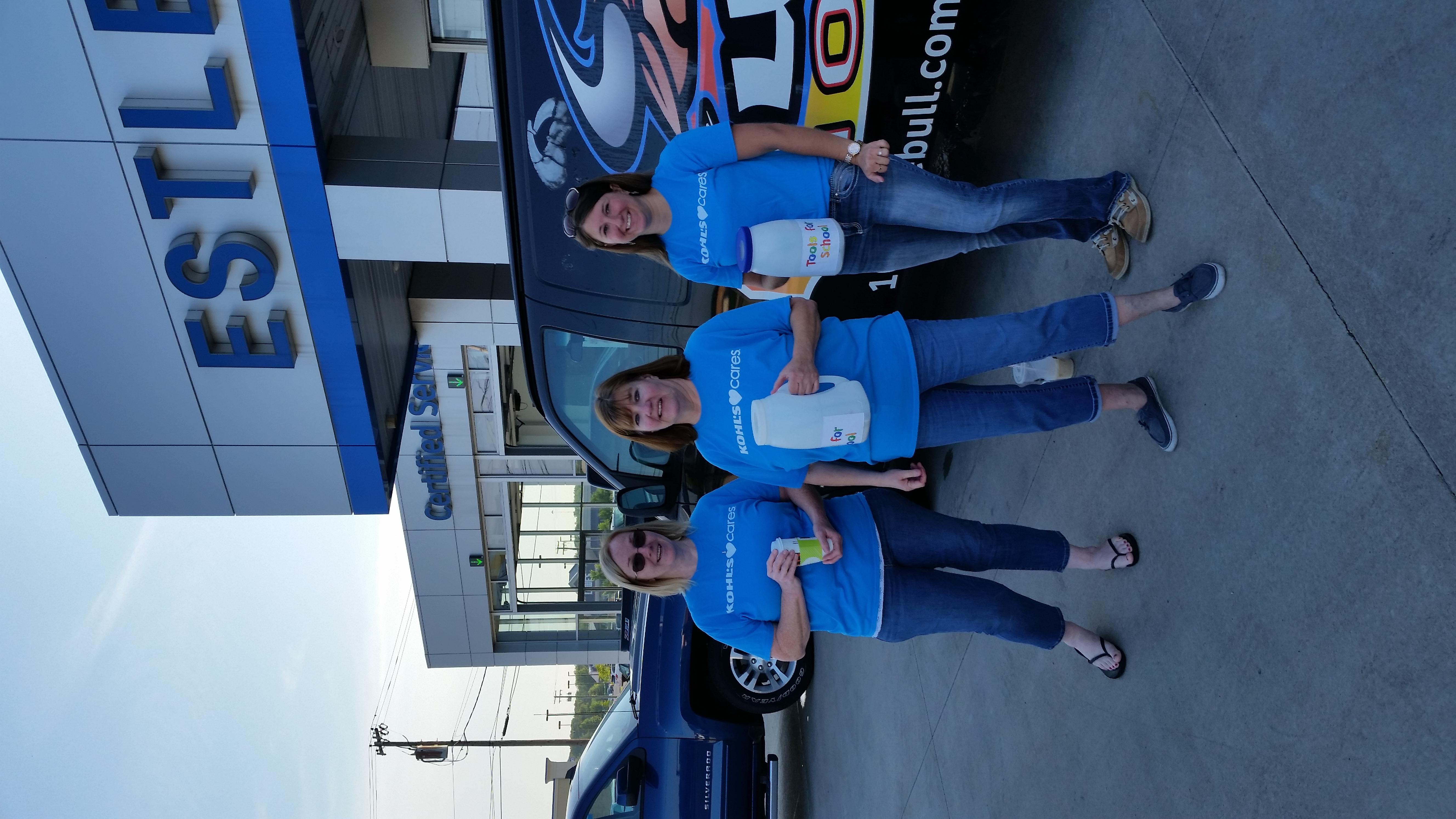 We LOVE the Kohl's Volunteers!