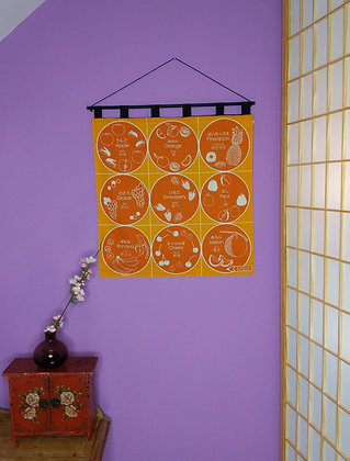 FUROSHIKI WALL HANGING - FRUIT
