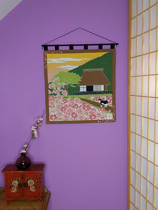 FUROSHIKI WALL HANGING - SUMMERTIME