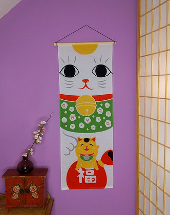 TENUGUI WALL HANGING - MANEKI