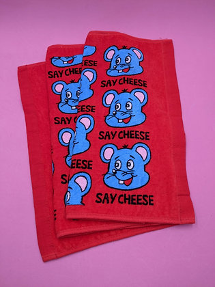 HAND TOWEL - SAY CHEESE