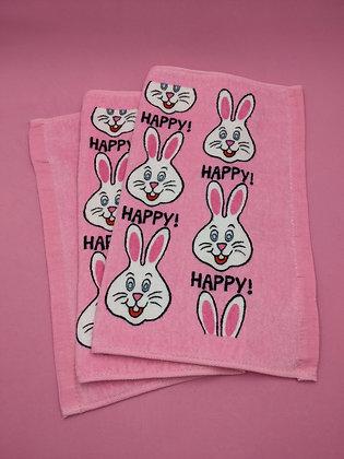 HAND TOWEL - HAPPY!