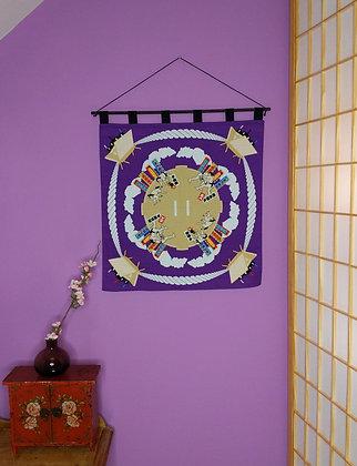 FUROSHIKI WALL HANGING - SUMO
