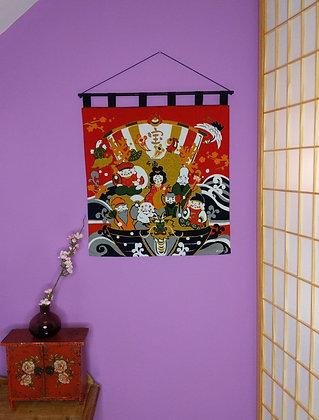 FUROSHIKI WALL HANGING - GODS