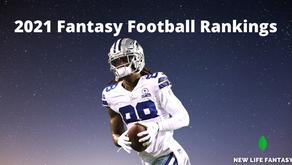 2021 Fantasy Football Rankings (June Update)