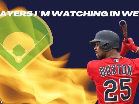 3 Players I'm Watching in Fantasy Baseball Week 1