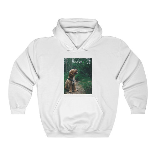 New Life Fantasy Dog Life Unisex Heavy Blend™ Hooded Sweatshirt