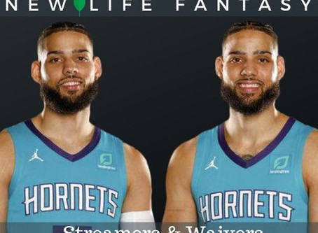 Fantasy Basketball Waivers and Streamers Week 22