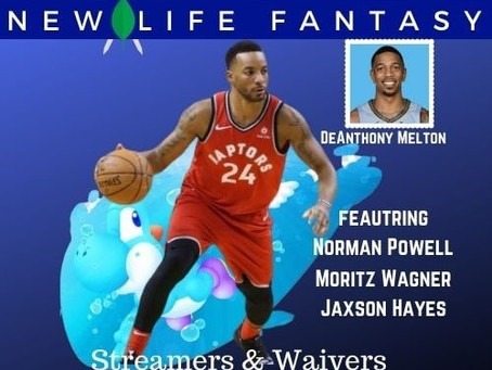 Fantasy Basketball Waivers and Streamers Week 8