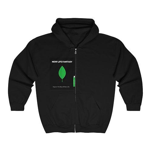 New Life Fantasy Hoodie Unisex Heavy Blend™ Full Zip Hooded Sweatshirt