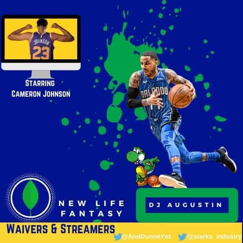 Fantasy Basketball Points Week 9 Waiver Wire and Stream Options