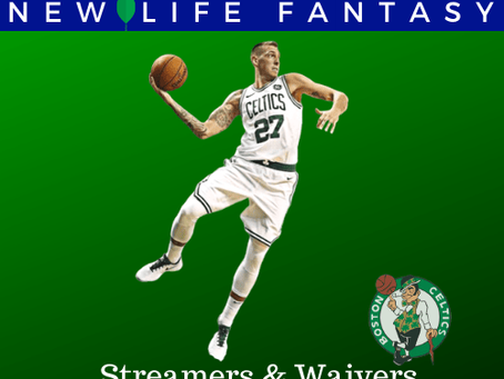 Fantasy Basketball Waivers and Streamers Week 13