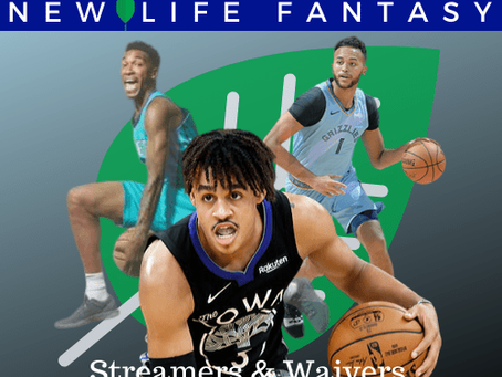 Fantasy Basketball Waivers and Streamers Week 18