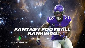 Fantasy Football: Week 1 Rankings