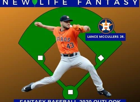 Fantasy Baseball: Lance McCullers Jr. 2020 Overview
