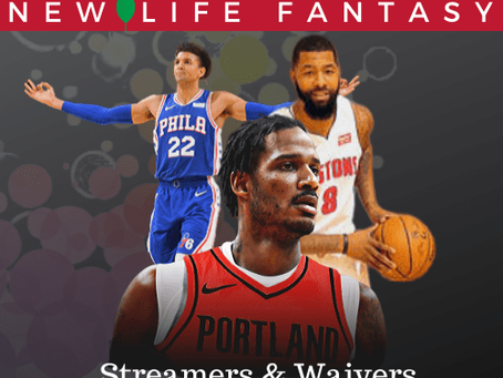 Fantasy Basketball Waivers and Streamers Week 16