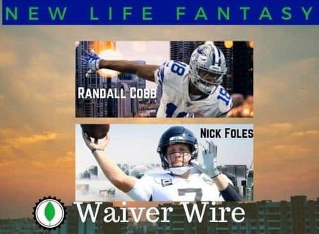 Week 13 Fantasy Football Dynasty Waiver Wire Pickups