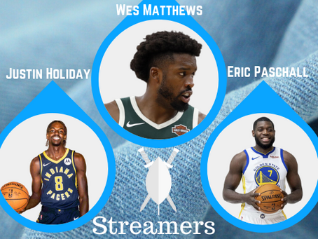 Fantasy Basketball Week 3 Streamers & Waiver Wire Pickups