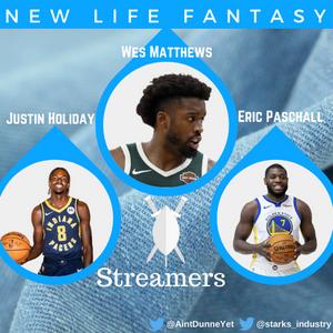 Fantasy Basketball Week 3 Streamers