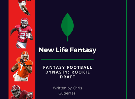 Fantasy Football: Dynasty Rookie Draft