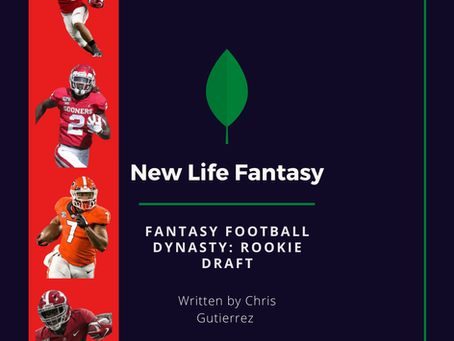 Fantasy Football: Dynasty Rookie Draft