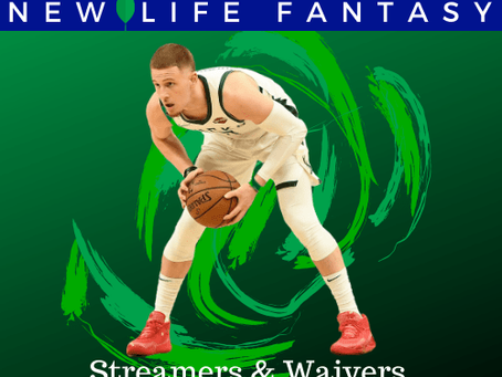 Fantasy Basketball Waivers and Streamers Week 19