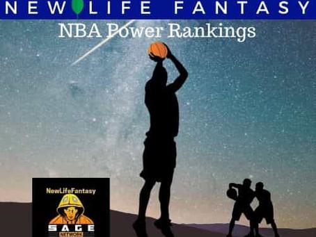 NBA Power Rankings - Updated Through 12/26
