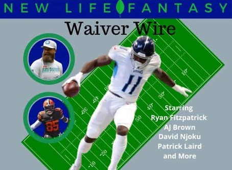 Week 15 Fantasy Football Dynasty Waiver Wire Pickups