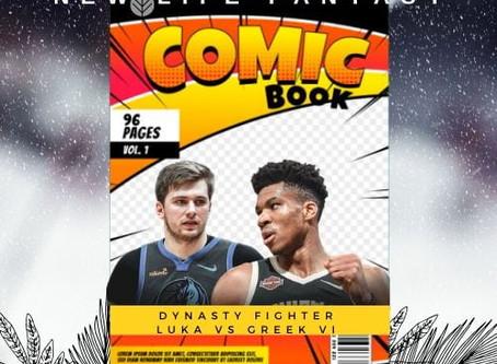 Fantasy Basketball Dynasty: Luka Doncic Vs Giannis Antetokounmpo