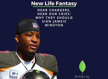Dear Chargers, Hear Our Cries: Sign Jameis Winston