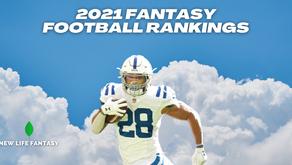 2021 Fantasy Football Rankings (August Update)