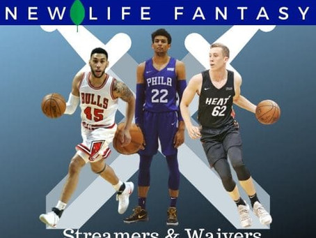Fantasy Basketball Waivers and Streamers Week 9