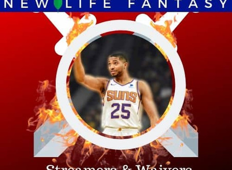 Fantasy Basketball Waivers and Streamers Week 11