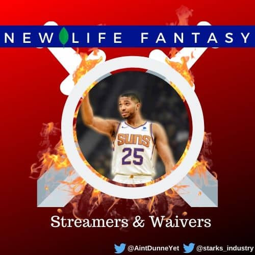 Fantasy Basketball Points and Dynasty Streamers/Waivers