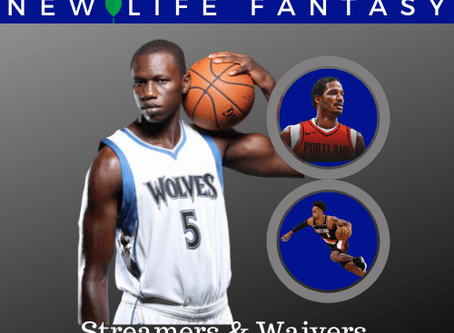 Fantasy Basketball Waivers and Streamers Week 20