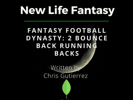 Fantasy Football Dynasty: Two RB's Bouncing Back