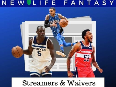 Fantasy Basketball Waivers and Streamers Week 12