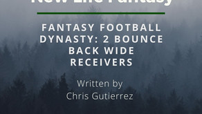 Fantasy Football Dynasty: 2 WRs Bouncing Back