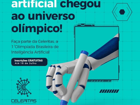 PRIMEIRA OLIMPÍADA BRASILEIRA DE INTELIGÊNCIA ARTIFICIAL!