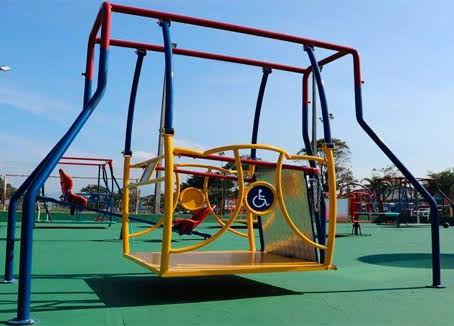 Primeiro playground de Valinhos com brinquedos acessíveis será instalado na Praça Washington Luiz