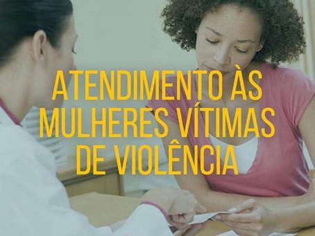 Mulheres vítimas de violência, estamos com vocês!
