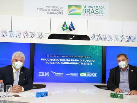 Parceria entre IBM e EMBRAPII/MCTI vai capacitar mais de 10 mil estudantes brasileiros