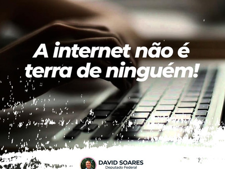 A internet não é terra de ninguém