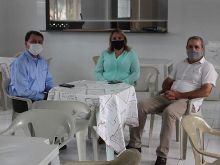 David Soares visita Comunidade Terapêutica Farol em Araras