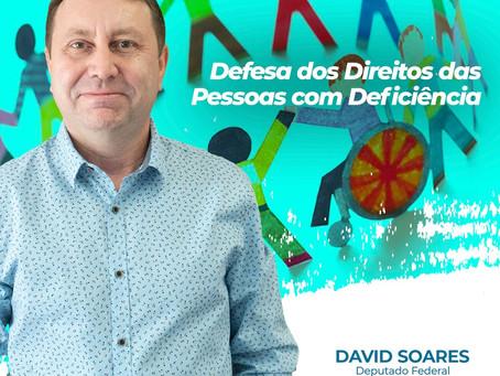DIREITOS DAS PESSOAS COM DEFICIÊNCIA