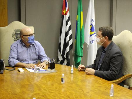 David Soares visita Campinas para tratar do cenário da cidade durante a pandemia
