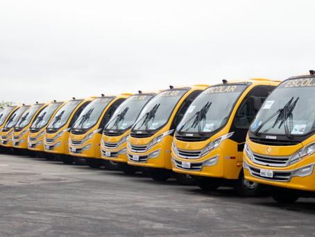Deputado Federal David Soares destina ônibus escolar para Presidente Venceslau